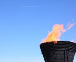 オリンピックの聖火